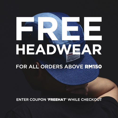 FREE DELIVERY for all orders over RM200